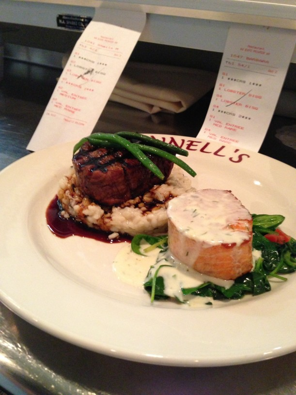 "Bonnell's ""Surf and Turf"""