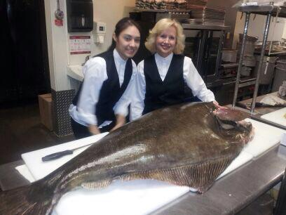 80UP Halibut - Bonnell's Fine Dining