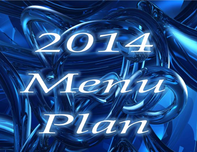 2014 Menu Plan