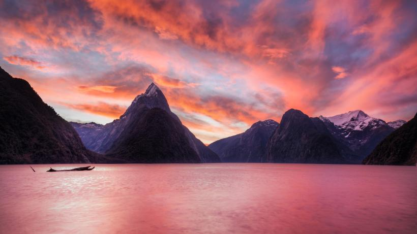 New Zealand Sunset